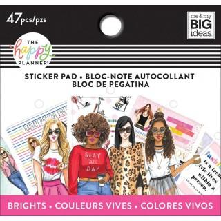 Brights - Rongrong - Tiny Sticker Pad