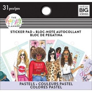 Pastel - Rongrong - Tiny Sticker Pad