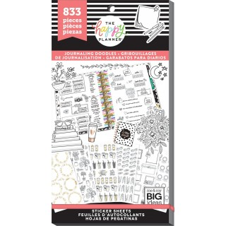 Journaling Doodles - Value Pack Stickers