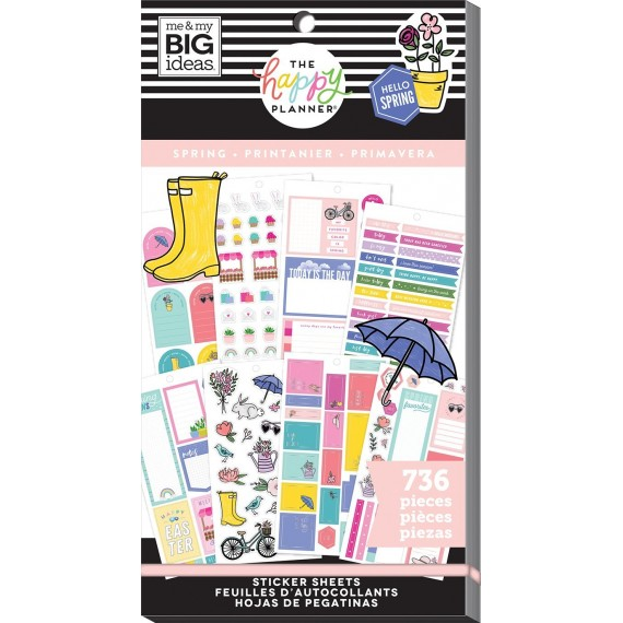Spring - Value Pack Stickers