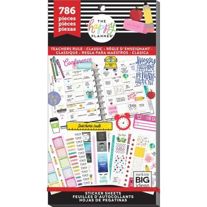 Teachers Rule - Classic Teacher - Value Pack Stickers