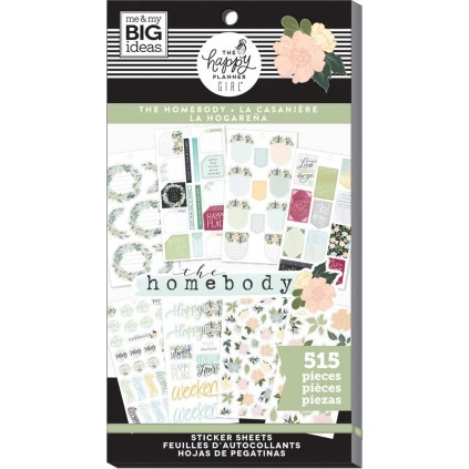 Homebody - Value Pack Stickers