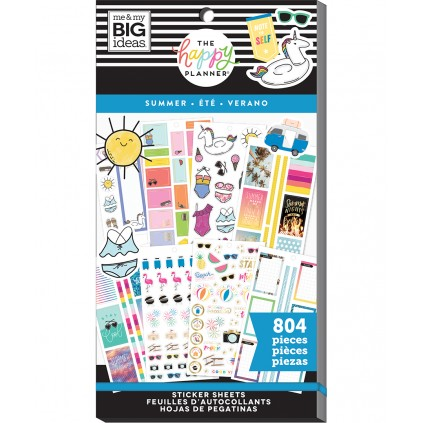 Summer - Value Pack Stickers
