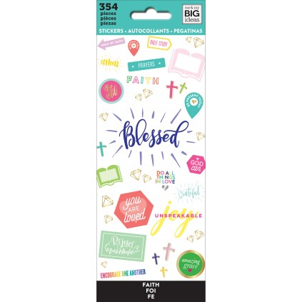 Blessed - Petite Sticker Sheets