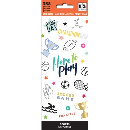 Sports - Petite Sticker Sheets
