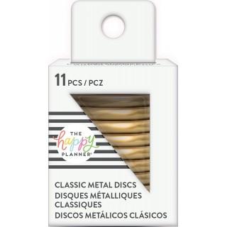 Gold - Medium Metal Discs