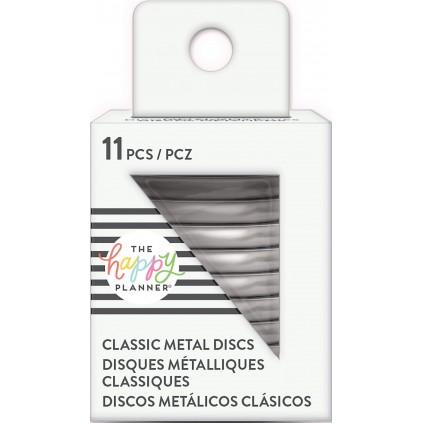 Silver - Medium Metal Discs