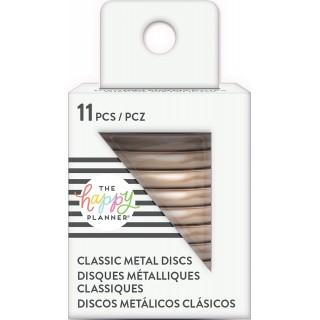 Rose Gold - Medium Metal Discs