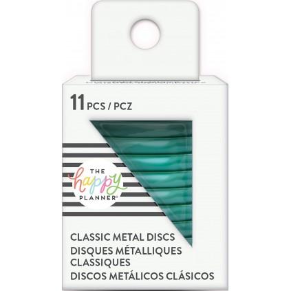 Teal - Medium Metal Discs