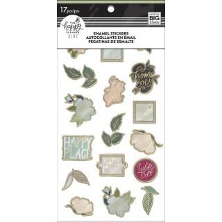 Homebody - Enamel Stickers