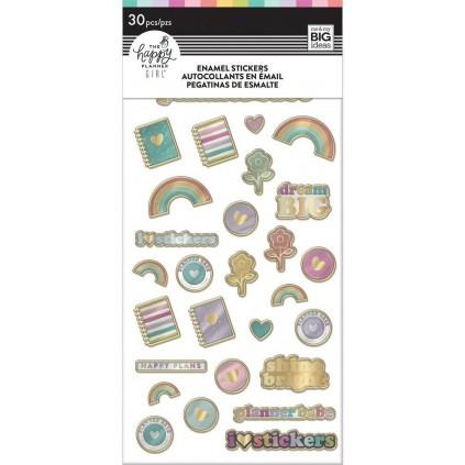 Planner Babe - Enamel Stickers