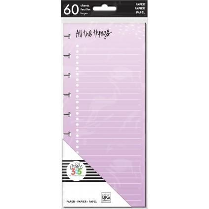 Colored Paper - Half Sheet - Classic Filler Paper