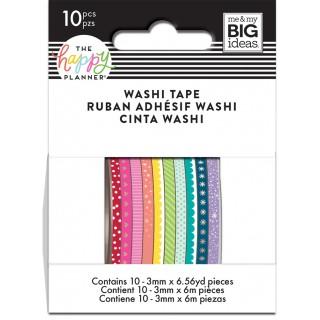 ROYGBIV(Rainbow) - Skinny Washi Tape