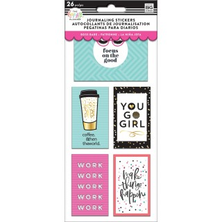 Boss Babe - Journaling (Flip) Stickers