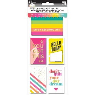 Brights - Journaling (Flip) Stickers