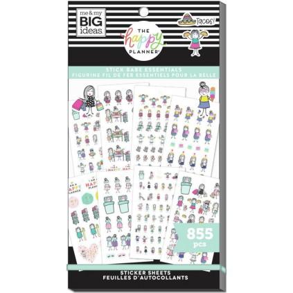 Stick Girls Essentials - Value Pack Stickers