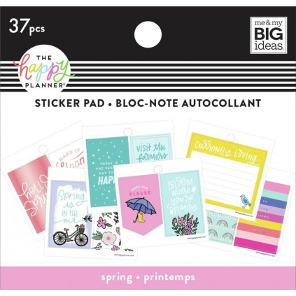 Spring - Tiny Sticker Pad