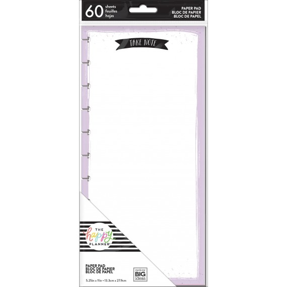 Take Note - BIG Punched Note Pad