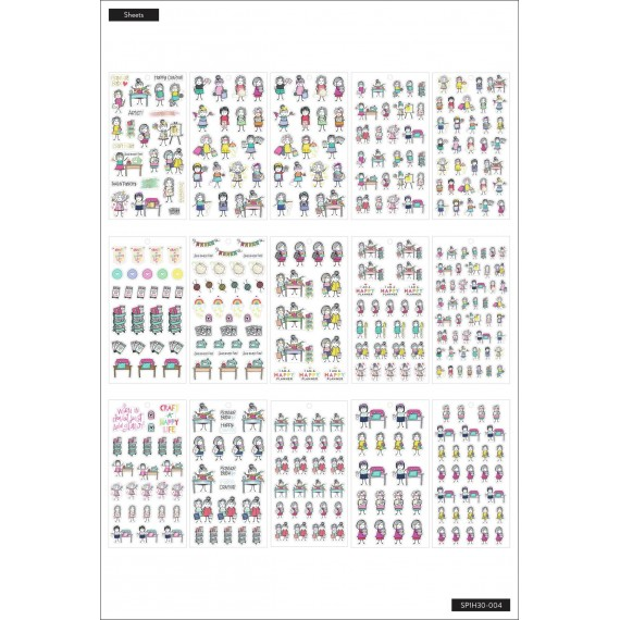 Stick Girls Craft - Value Pack Stickers