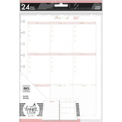 Weekly Schedule - Minimalist Classic Filler Paper