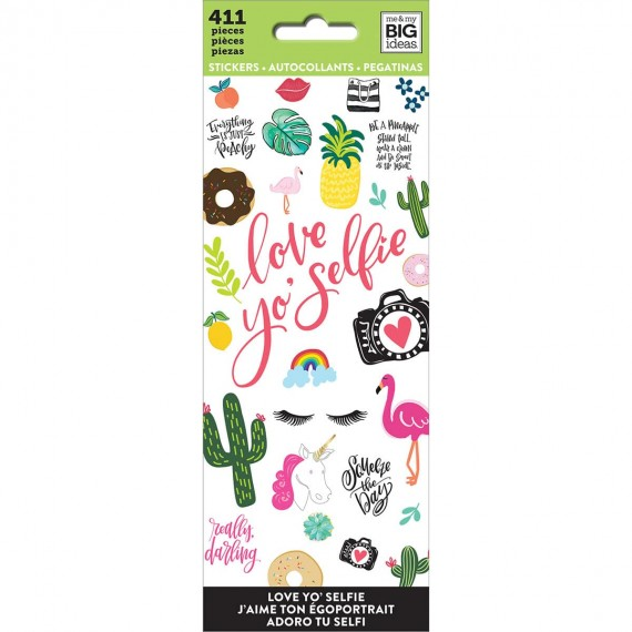 Love Yo' Selfie - Petite Sticker Sheets