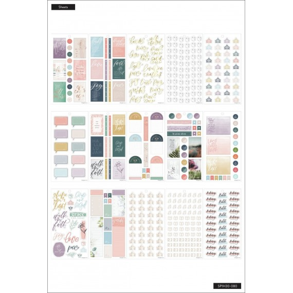 Walk By Faith - Value Pack Stickers