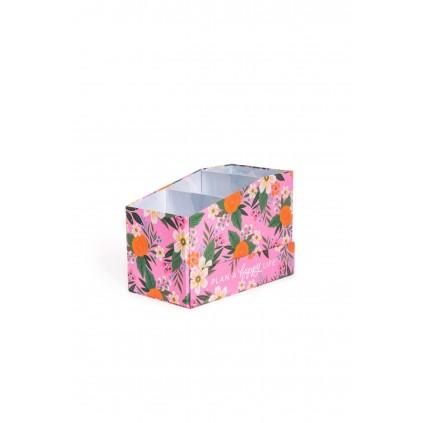 Floral Sticker Book Storage