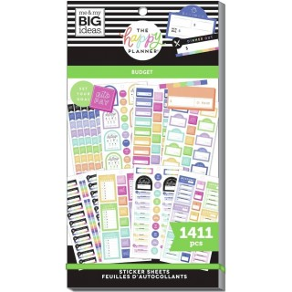 Budget Goals - Value Pack Stickers
