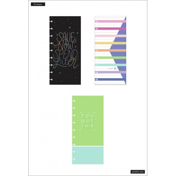 Save Now - Budget Snap In Envelopes - 3 Pack