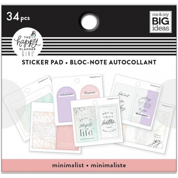 Minimalist - Tiny Sticker Pad