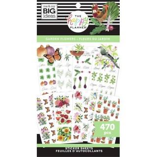 Garden Florals - Value Pack Stickers