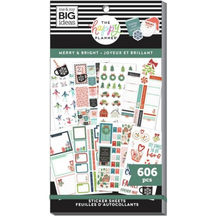 Merry & Bright - Value Pack Stickers