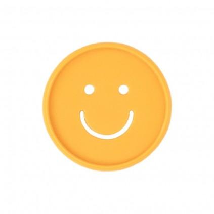 Smiley Cutout Medium Disc Set - Golden Yellow