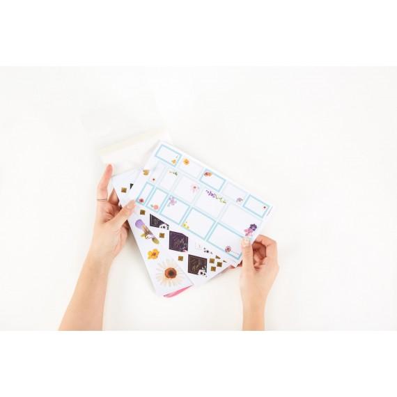 Happy Sticker Sheet Storage