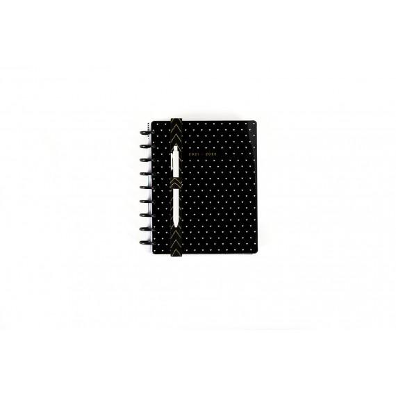 B&W Neutral Elastic Band Pen Holder - 2 pack