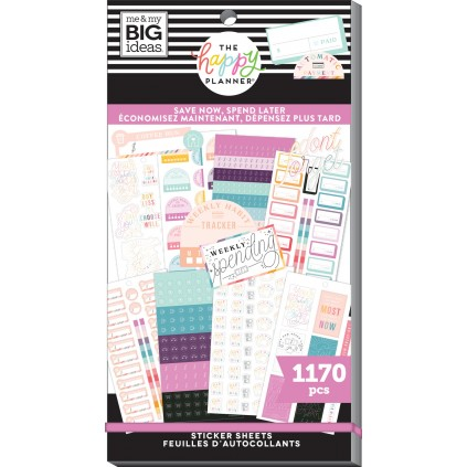 Save Now Spend Later - Value Pack Stickers