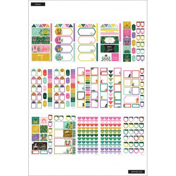 Jungle Vibes Mini - Value Pack Stickers
