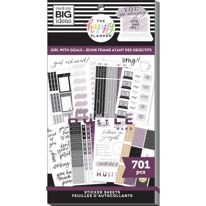 Girls With Goals - Value Pack Stickers