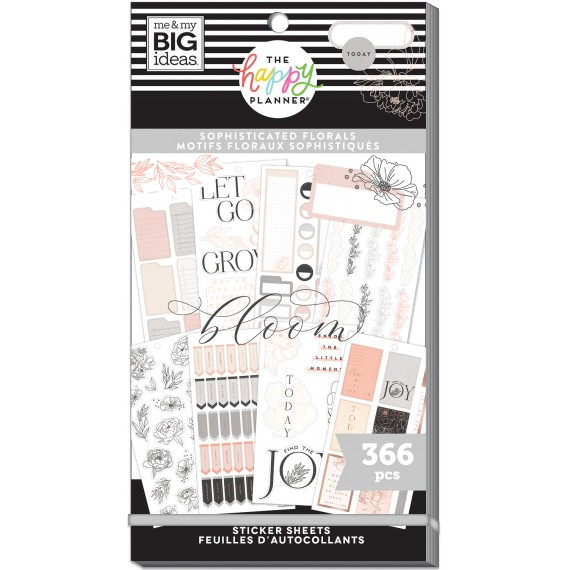 Sophisticated Florals - Value Pack Stickers
