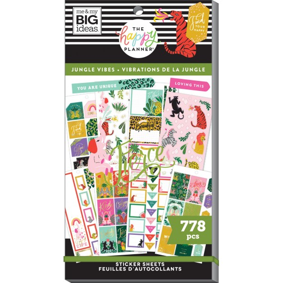 Jungle Vibes - Value Pack Stickers