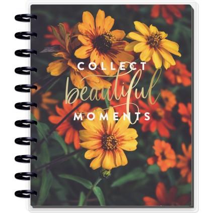Moody Florals - BIG Horizontal Happy Planner - 18 months