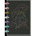 Budget Line Art - Mini Budget Happy Planner - 12 måneder