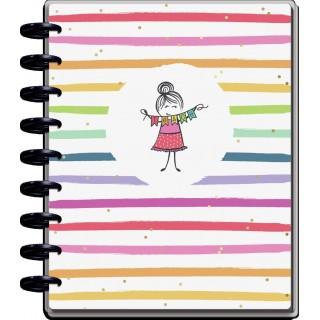 Stick Girl Classic Teacher Happy Planner - 12 Months