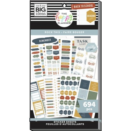 Rock This - Teacher Value Pack Stickers