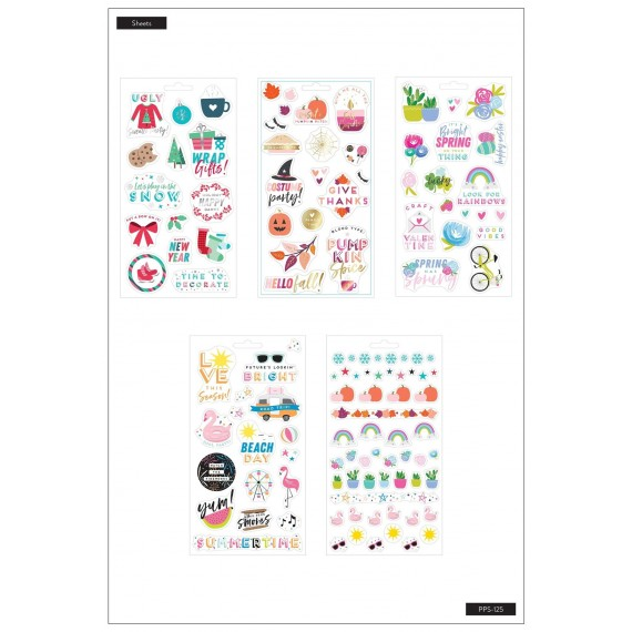 Seasonal Student - Stickers Sheets