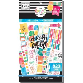 Happy Life - Value Pack Stickers