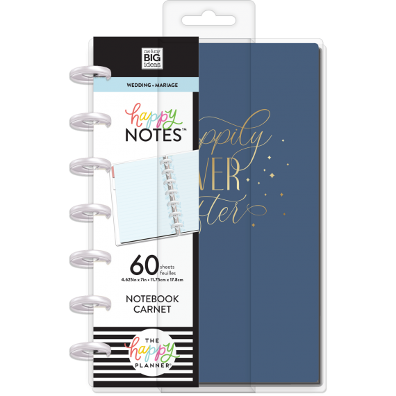 Happily Ever After - Wedding Notebook - Mini Happy Notes