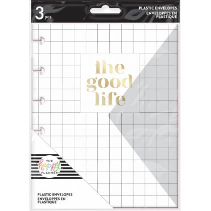 Good Life - Snap-In Envelopes - 3 pack