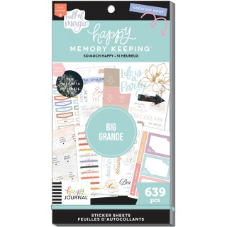 So Much Happy - Happy Memory Keeping - Value Pack Stickers