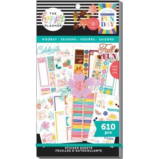 Hooray Seasons - Value Pack Stickers